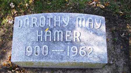 HAMER, DOROTHY MAY - Lyon County, Kansas | DOROTHY MAY HAMER - Kansas Gravestone Photos