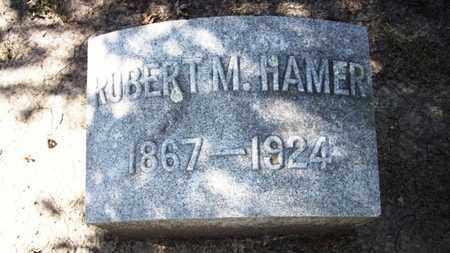 HAMER, ROBERT M - Lyon County, Kansas | ROBERT M HAMER - Kansas Gravestone Photos