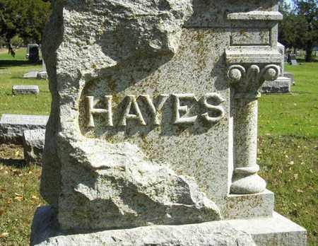 HAYES, FAMILY STONE - Lyon County, Kansas | FAMILY STONE HAYES - Kansas Gravestone Photos