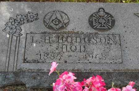 HODGSON, LORENZO H (CLOSE UP) - Lyon County, Kansas | LORENZO H (CLOSE UP) HODGSON - Kansas Gravestone Photos