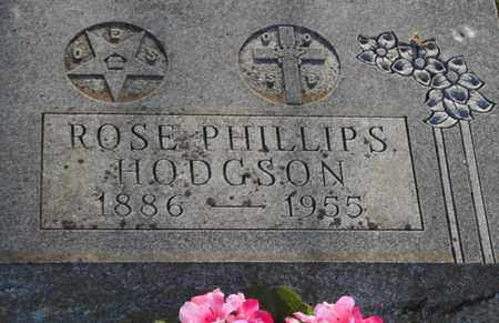 HODGSON, ROSE ONA (CLOSE UP) - Lyon County, Kansas   ROSE ONA (CLOSE UP) HODGSON - Kansas Gravestone Photos