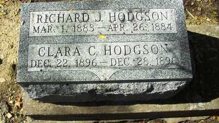 HODGSON, RICHARD J - Lyon County, Kansas | RICHARD J HODGSON - Kansas Gravestone Photos