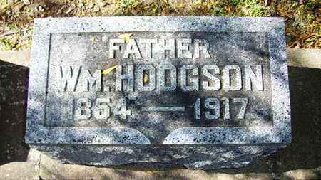HODGSON, WILLIAM - Lyon County, Kansas | WILLIAM HODGSON - Kansas Gravestone Photos