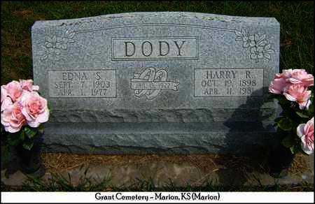 DODY, HARRY R - Marion County, Kansas   HARRY R DODY - Kansas Gravestone Photos