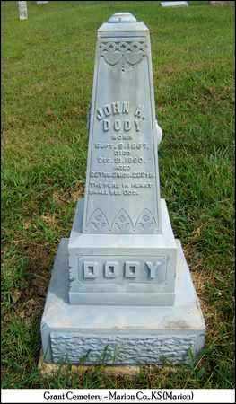 DODY, JOHN H - Marion County, Kansas | JOHN H DODY - Kansas Gravestone Photos