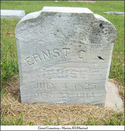 DRUSE, ERNST C T - Marion County, Kansas | ERNST C T DRUSE - Kansas Gravestone Photos