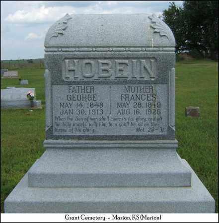 HOBEIN, GEORGE - Marion County, Kansas | GEORGE HOBEIN - Kansas Gravestone Photos