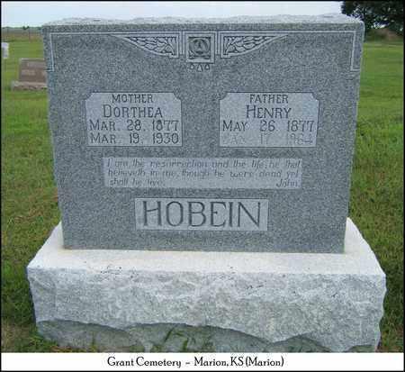 HOBEIN, DORTHEA - Marion County, Kansas   DORTHEA HOBEIN - Kansas Gravestone Photos