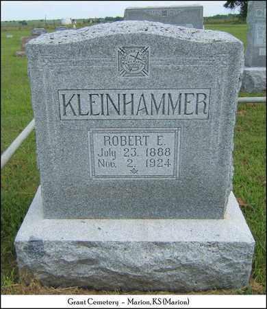 KLEINHAMMER, ROBERT E - Marion County, Kansas   ROBERT E KLEINHAMMER - Kansas Gravestone Photos