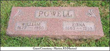 POWELL, WILLIAM - Marion County, Kansas | WILLIAM POWELL - Kansas Gravestone Photos