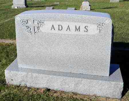 ADAMS, FAMILY STONE - Marshall County, Kansas | FAMILY STONE ADAMS - Kansas Gravestone Photos