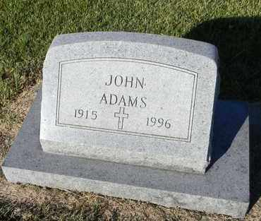 ADAMS, JOHN J - Marshall County, Kansas | JOHN J ADAMS - Kansas Gravestone Photos