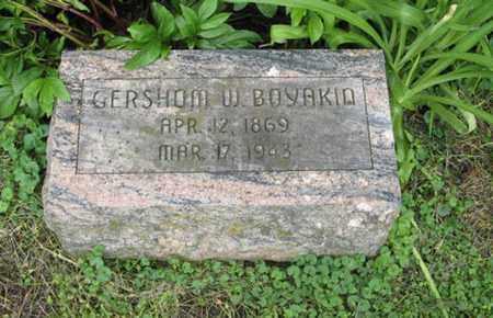BOYAKIN, GERSHOM W - Marshall County, Kansas | GERSHOM W BOYAKIN - Kansas Gravestone Photos