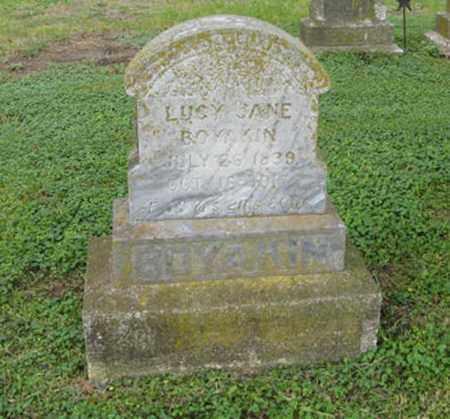 BOYAKIN, LUCY JANE - Marshall County, Kansas   LUCY JANE BOYAKIN - Kansas Gravestone Photos