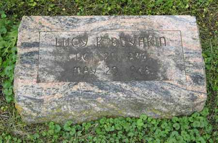 BOYAKIN, LUCY K - Marshall County, Kansas | LUCY K BOYAKIN - Kansas Gravestone Photos