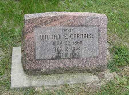 CARNRIKE, WILLIAM E - Marshall County, Kansas | WILLIAM E CARNRIKE - Kansas Gravestone Photos