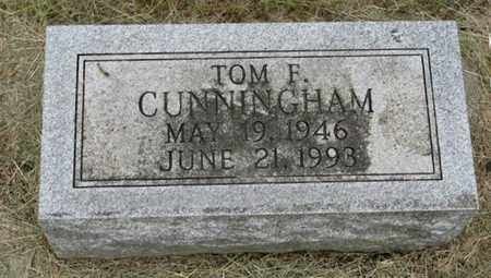 CUNNINGHAM, TOM F - Marshall County, Kansas   TOM F CUNNINGHAM - Kansas Gravestone Photos