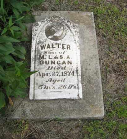 DUNCAN, WALTER - Marshall County, Kansas | WALTER DUNCAN - Kansas Gravestone Photos