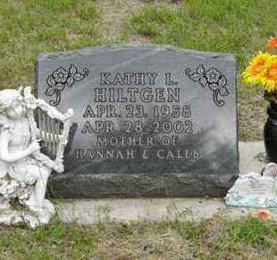 HILTGEN, KATHY L - Marshall County, Kansas | KATHY L HILTGEN - Kansas Gravestone Photos
