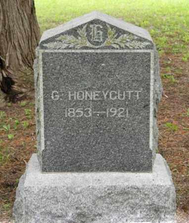 HONEYCUTT, G - Marshall County, Kansas   G HONEYCUTT - Kansas Gravestone Photos