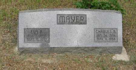 MAYER, CHARLES B. - Marshall County, Kansas | CHARLES B. MAYER - Kansas Gravestone Photos