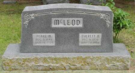 MCLEOD, PEARL M. - Marshall County, Kansas | PEARL M. MCLEOD - Kansas Gravestone Photos