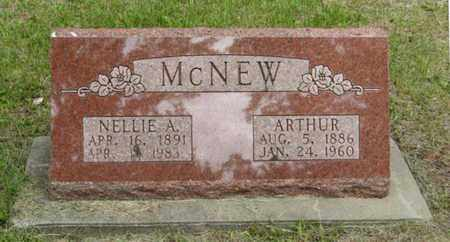 MCNEW, NELLIE A - Marshall County, Kansas | NELLIE A MCNEW - Kansas Gravestone Photos