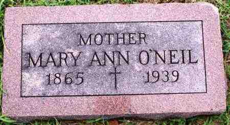 O'NEIL, MARY ANN - Marshall County, Kansas | MARY ANN O'NEIL - Kansas Gravestone Photos