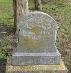 PETERS, MARY ANN - Marshall County, Kansas   MARY ANN PETERS - Kansas Gravestone Photos