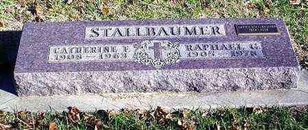 STALLBAUMER, CATHERINE FRANCES - Marshall County, Kansas | CATHERINE FRANCES STALLBAUMER - Kansas Gravestone Photos