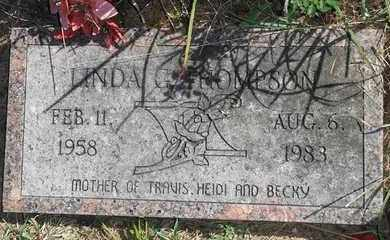 THOMPSON, LINDA G - Marshall County, Kansas | LINDA G THOMPSON - Kansas Gravestone Photos