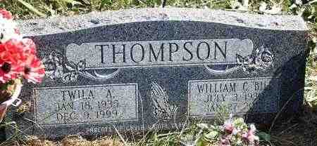 THOMPSON, WILLIAM C - Marshall County, Kansas | WILLIAM C THOMPSON - Kansas Gravestone Photos