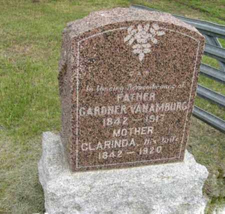 VAN AMBURG, CLARINDA - Marshall County, Kansas | CLARINDA VAN AMBURG - Kansas Gravestone Photos