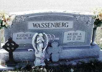 STALLBAUMER WASSENBERG, ARLENE ANN - Marshall County, Kansas | ARLENE ANN STALLBAUMER WASSENBERG - Kansas Gravestone Photos