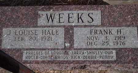 WEEKS, FRANK H - Marshall County, Kansas | FRANK H WEEKS - Kansas Gravestone Photos
