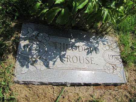 CROUSE, THEODORE - McPherson County, Kansas   THEODORE CROUSE - Kansas Gravestone Photos