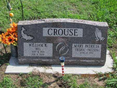 "CROUSE, WILLIAM K ""BILL"" - McPherson County, Kansas | WILLIAM K ""BILL"" CROUSE - Kansas Gravestone Photos"