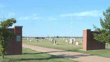 *ENTRANCE AND OVERVIEW,  - McPherson County, Kansas    *ENTRANCE AND OVERVIEW - Kansas Gravestone Photos