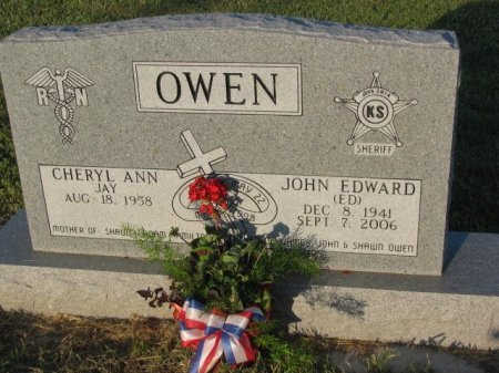OWEN, JOHN EDWARD - Mitchell County, Kansas | JOHN EDWARD OWEN - Kansas Gravestone Photos