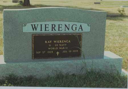 WIERENGA, RAY   (VETERAN WWII) - Mitchell County, Kansas   RAY   (VETERAN WWII) WIERENGA - Kansas Gravestone Photos