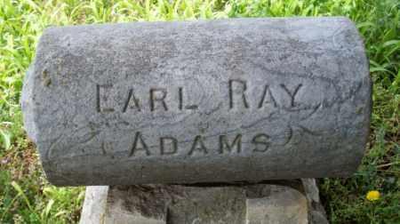 ADAMS, EARL RAY - Montgomery County, Kansas | EARL RAY ADAMS - Kansas Gravestone Photos