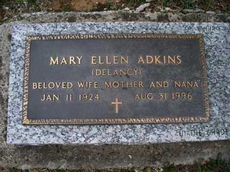 ADKINS, MARY ELLEN - Montgomery County, Kansas | MARY ELLEN ADKINS - Kansas Gravestone Photos