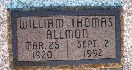 ALLMON, WILLIAM THOMAS - Montgomery County, Kansas | WILLIAM THOMAS ALLMON - Kansas Gravestone Photos