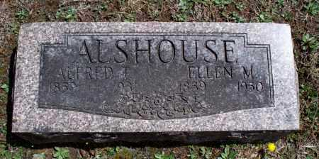 ALSHOUSE, ALFRED T. - Montgomery County, Kansas | ALFRED T. ALSHOUSE - Kansas Gravestone Photos