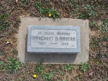 AMBERN, MARGARET D - Montgomery County, Kansas | MARGARET D AMBERN - Kansas Gravestone Photos
