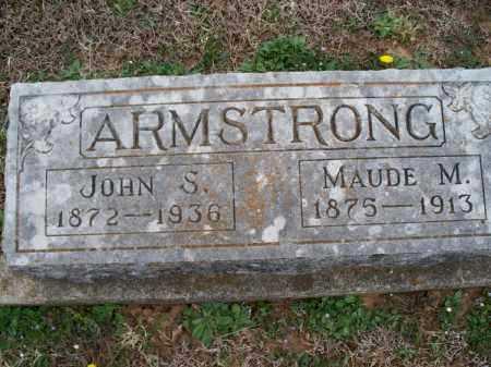 ARMSTRONG, MAUDE M - Montgomery County, Kansas | MAUDE M ARMSTRONG - Kansas Gravestone Photos