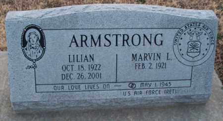 ARMSTRONG, LILIAN - Montgomery County, Kansas | LILIAN ARMSTRONG - Kansas Gravestone Photos