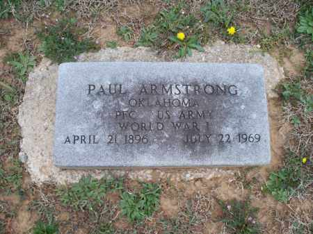 ARMSTRONG, PAUL  (VETERAN WWI) - Montgomery County, Kansas   PAUL  (VETERAN WWI) ARMSTRONG - Kansas Gravestone Photos