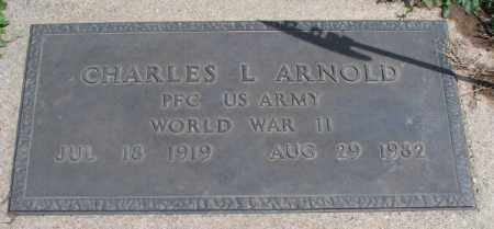 ARNOLD, CHARLES L  (VETERAN WWII) - Montgomery County, Kansas | CHARLES L  (VETERAN WWII) ARNOLD - Kansas Gravestone Photos