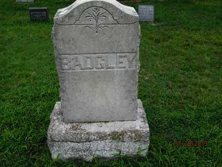 BADGLEY, FAMILY STONE - Montgomery County, Kansas | FAMILY STONE BADGLEY - Kansas Gravestone Photos
